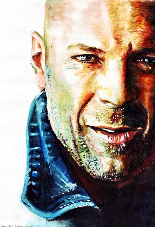 Bruce Willis par Kerstin